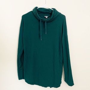 🌵 A New Day Cowl Neck Hunter Green Sweater